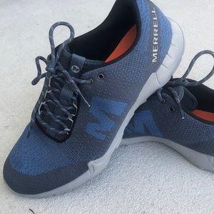 Blue Merrell Shoe